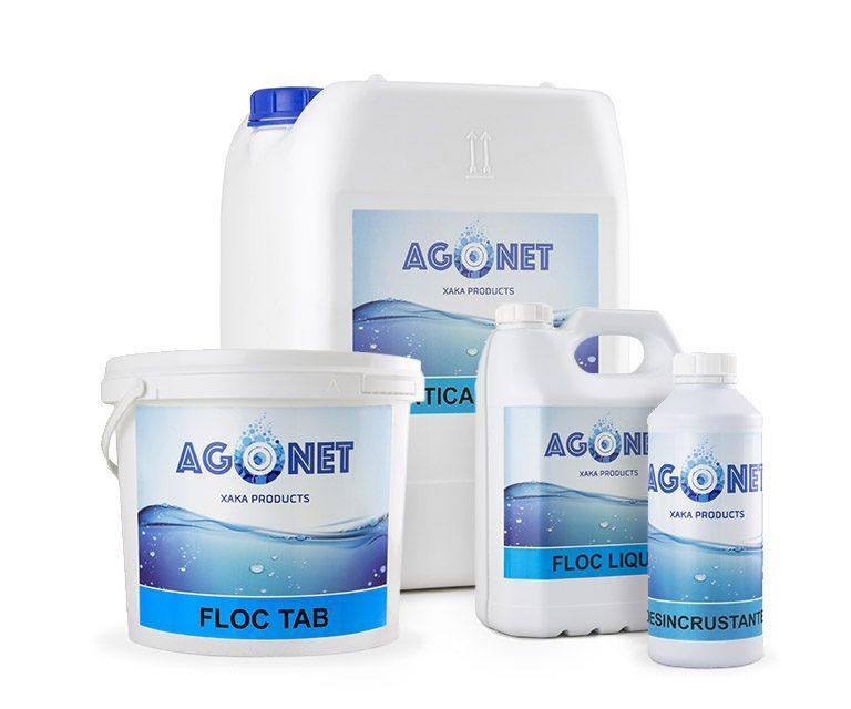 Gama floculantes y limpieza Agonet