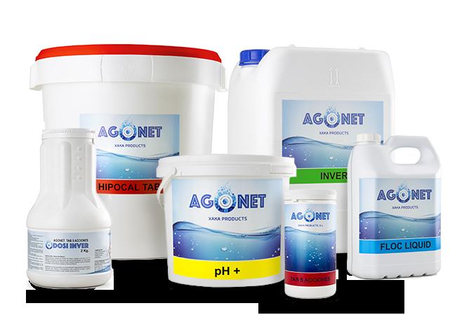 Gama productos Agonet slider