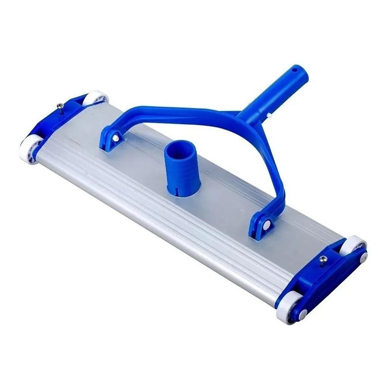 limpiafondos manual de aluminio para limpiar piscinas