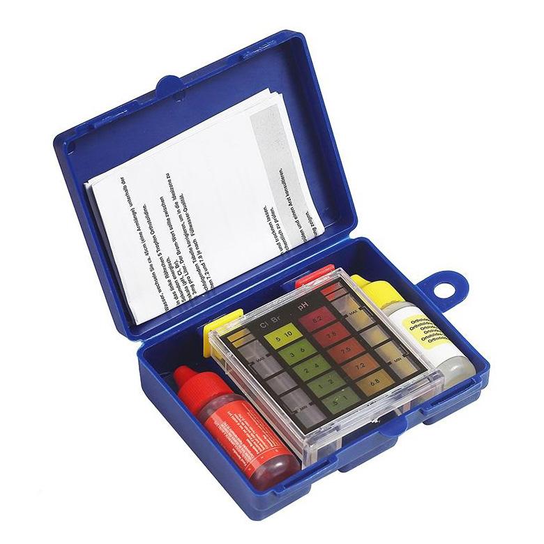 kit analizador cloro y ph piscina
